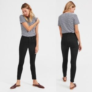 Everlane High Rise Skinny Jean Black Regular